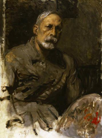 Arturo Rietti, Autoritratto