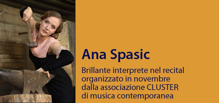 A colloquio con… Ana Spasic