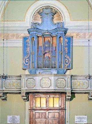 Organo Chiesa di S. Andrea di Compito (Capannori)