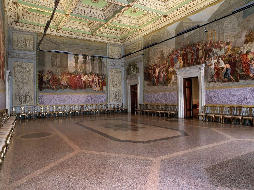 Sala Ademollo - Palazzo Ducale di Lucca