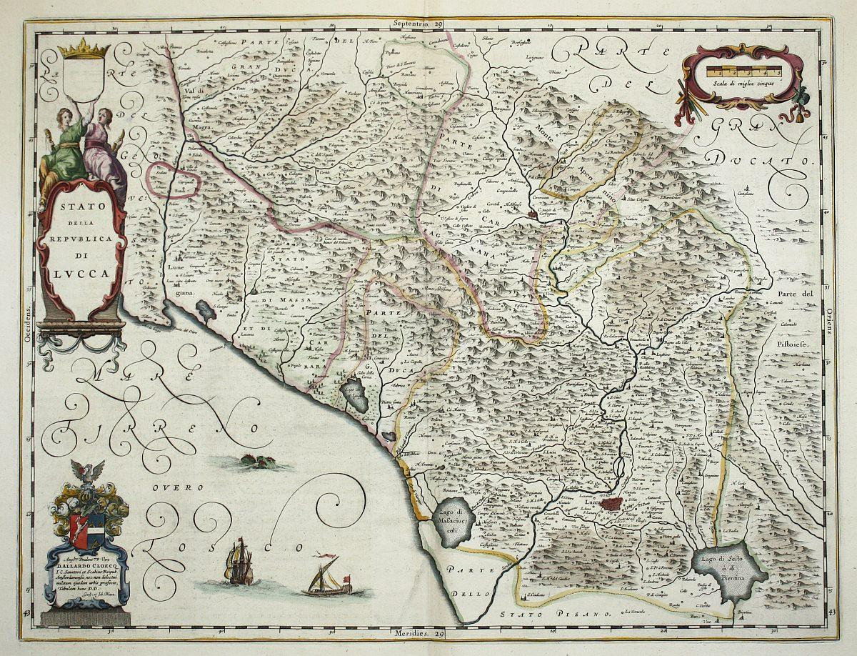 Carta della Repubblica di Lucca