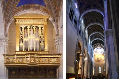 Organo del Duomo di San Martino - Navata laterale Duomo di Lucca