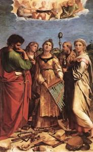 Estasi di S. Cecilia di Raffaello