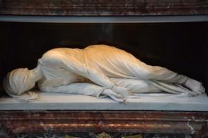 statua di s. cecilia