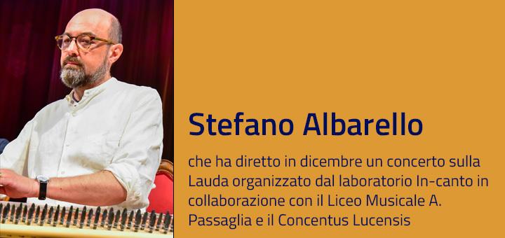 A colloquio con… Stefano Albarello