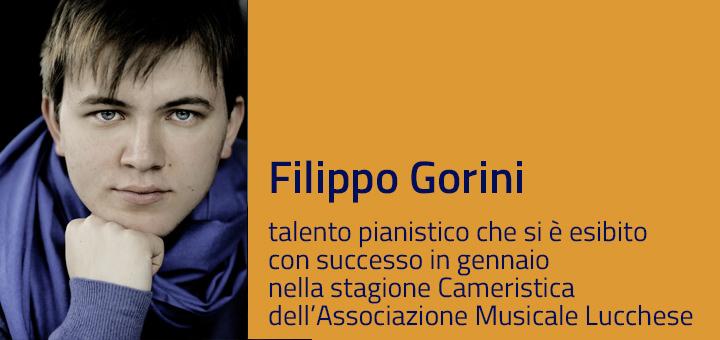 A colloquio con…Filippo Gorini