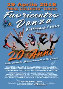 Fuoricentro Danza 20 anni
