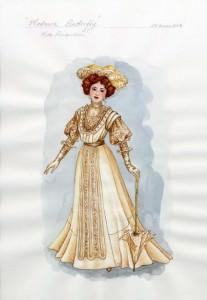 Costume di Kate Pinkerton