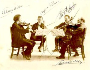 Flonzaley Quartet con Adolfo Betti