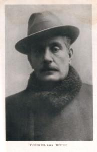 Immagine di Giacomo Puccini nel 1919