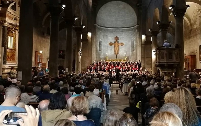 POLIFONICA LUCCHESE IN CONCERTO A S.MICHELE