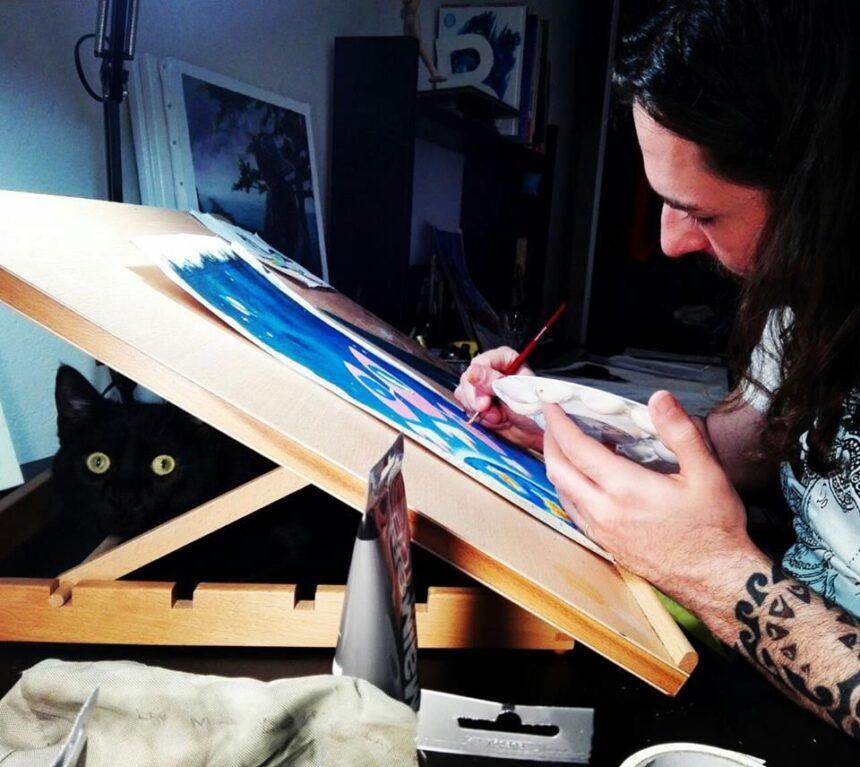 Giacomo Galligani: «La mia vita dedicata all'arte fra musica e disegno»
