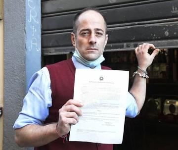 """Bar Tessieri, parla Giambastiani: """"Punito per aver prestato soccorso a persone in difficoltà. Lucca ha bisogno di cambiare"""""""